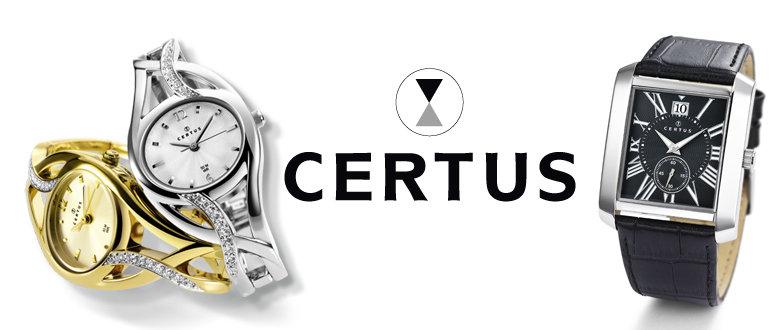 4867dd40d CERTUS, to je francouzská národní značka, která nabízí elegantní dámské  hodinky ve zlaceném, stříbrném i kombinovaném provedení. Spousta modelů má  dokonce ...